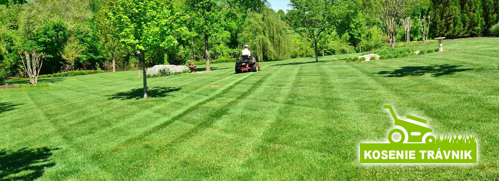 Kosíme záhrady, pozemky a rôzne trávnaté plochy